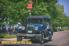 MSCC Sept 9 Star of the Day-this '27 Chevy in traffic a few days ago. Here's why it's a star: http://www.mystarcollectorcar.com/3-the-stars/40-model-stars/2446-mscc-southside-star-of-the-day.html