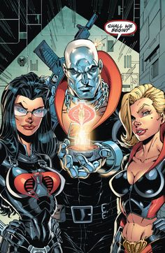 Baroness, Destro and Abbey Chase agent of Cobra