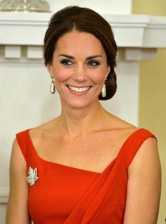 La Duquesa de Cambridge sigue reafirmando su impecable estilo en Canadá