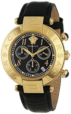 Versace Women's Q5C70D009 S009 New Reve Yellow Gold Ion-P... - Current price: USD $2183.98 (1% OFF) - Price history and alert - #Watches, #Versaces