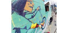 Fotos: Los grafitis que adornan la calle 26. - Galería de Fotos - ELTIEMPO.COM