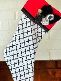 DIY Christmas 2013 Stockings : Easy Ideas