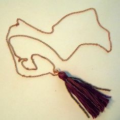 Tassel Necklace DIY | Tasha Delrae