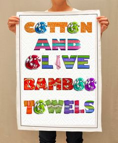 Visit this site http://www.cottonandolive.com/product-category/bamboo-towels/ for more information on Cotton And Olive Bamboo Towels. You also want to make sure your towels are clean to prevent spreading germs.