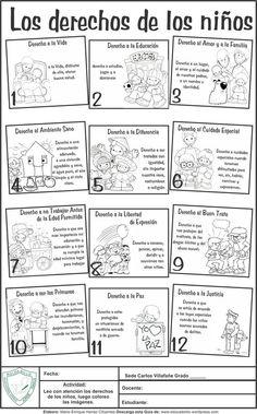 Guía para desarrollar con los niños de básica primaria, sobre los derechos del niño. Elaborada por: Mario Enrique Henao Cifuentes - Docente Normal Superior Descargar en PDF: