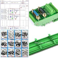 12V Version ELECTRONICS-SALON DIN Rail Mount Passive Bistable//Latching DPDT 8A Power Relay Module