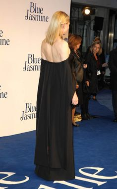"""Cate Blanchett attends the UK premiere of """"Blue Jasmine"""" at Odeon West End on September 17, 2013 in London, England. (Photo by Fred Duval/Ge..."""