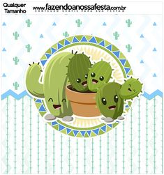 Cactus Images, Cactus Stickers, Flower Prints, Yoshi, Kawaii, Party, Fictional Characters, Llamas, Silhouette Projects