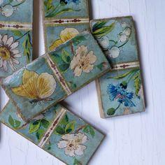 Vintage Floral Dominoes