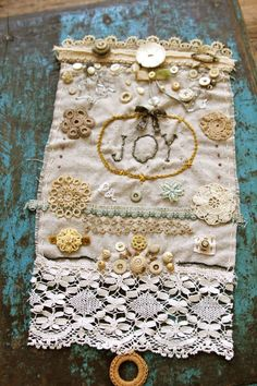what to do with grandma's emboidered handkerchiefs