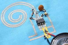 Picture of How to Work With Conductive Fabric