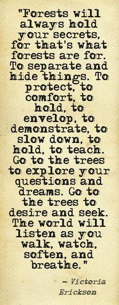 .Yes I am a tree hugger <3