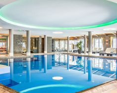 Poolbereich im Hotel Seekarhaus in Obertauern