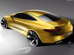 mercedes-Benz cklass coupe official sketch!