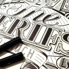 I love the serifs so much!