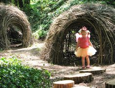 Jo's Grove, a fairy themed natural play space for children at our local nature center in Knoxville, Tennessee.