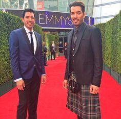 Heading Into The 2017 Emmy Awards With Mrdrewscott Hgtv Property Brothers Drew
