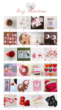 """25 Handmade Valentines // A Subtle Revelry 1.jar of cookies- you are my fave 