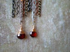 Before The Fall Earrings 2 by dorijenn on Etsy, $39.00