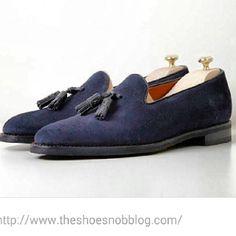 http://chicerman.com  jfitzpatrickfootwear:  A blue suede loafer is essential to a denim wearer! #tasselloafers #suedeshoes #jfitzpatrick #jfitzpatrickfootwear #mensshoes #mensstyle #mensfashion #shoes #loafers #shoeporn #bluesuedeshoes #theshoesnob #theshoesnob84  #menshoes