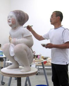 """Webcast of the Akio Takamori Distinguished Artist Talk is now available. Sponsored by the James Renwick Alliance and held 1 June 2014 at the Smithsonian American Art Museum. Takamori is a Japanese-American ceramics artist and professor. I don't like everything he does, but his """"sleepers"""" series is interesting. Link @: http://americanart.si.edu/multimedia/webcasts/archive/2014/jra_takamori/index.cfm"""