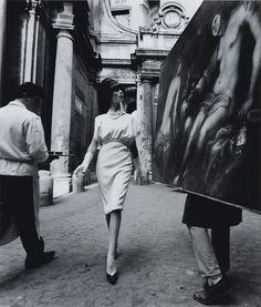 Photo by William Klein, Rome, 1960.