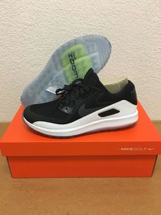 official photos 3738e 81f0e Nike Air Zoom 90 IT Golf Shoes Mens Size 10 Black White 844569 001 RORY  McILROY