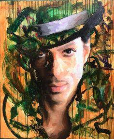 Schilderij Prince  by Peter Donkersloot  www.excellent-art.nl