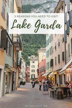Reasons to Visit Lake Garda: Riva del Garda Why you need to visit Riva del Garda Italy Vacation, Vacation Destinations, Italy Travel, Vacation Spots, Travel Europe, Italy Trip, Italy Tours, Vicenza Italy, Verona Italy