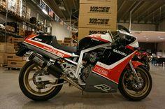 Japanese model GsxR 750