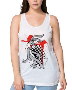 Bugs Bunny, Animation, Silhouette, Tank Tops, Instagram Posts, Clothing, T Shirt, Women, Products