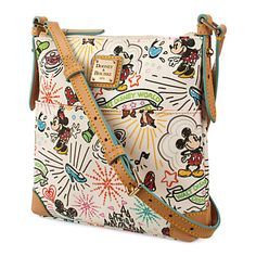 [Parks on parade]Carry happy memories with this leather crossbody bag by Dooney…