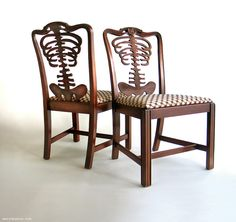 Wary Meyers Skeleton Chairs