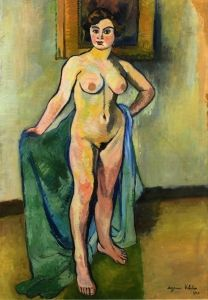 Large Nude with Painting - Suzanne Valadon - The Athenaeum