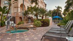 Spa Terrace at Hilton Naples Hotel