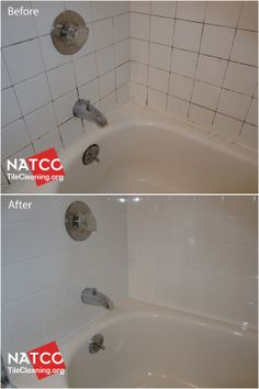 14 best Re Grouting   Re Caulking images on Pinterest   Regrouting     Regrouting white shower tiles with black moldy grout and caulk