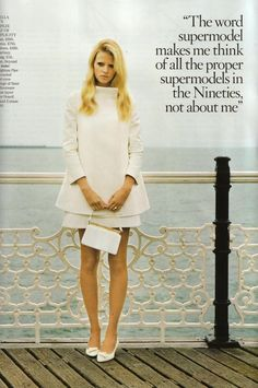 """Lara Stone - British Vogue - November 2010    Date night thE bRITISH """"mod"""" WAY"""