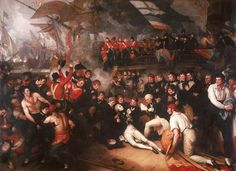 Benjamin West The Death of Nelson, Walker Art Gallery, Liverpool Google Art Project, Tate Gallery, Artist Gallery, Walker Art, Religious Paintings, Royal Academy Of Arts, National Gallery Of Art, Oil Painting Reproductions, Art Uk