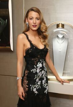 Blake Lively's polished curls are perfect for a holiday party. This one may take more time, but it's just as easy. Pin small finger curls around your head while your hair is damp and blow dry. Voilà!