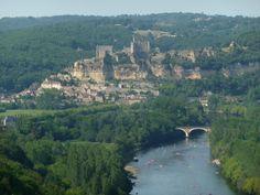 Beynac seen from Castelnaud