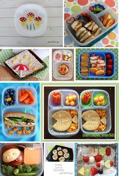 10 school lunch ideas for kids!
