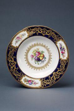 Assiette a potage | Nicquet, Monsieur | V Search the Collections