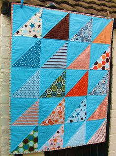 HST Baby Boy Quilt - Front | Flickr - Photo Sharing!