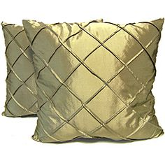 Dior Sage Sched Diamond Decorative Pillows Set Of 2 Ping Great Deals On Rlf Home Throw