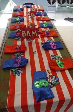 Superhero Theme Kids Birthday Party- We carry the Laser fingers! affordable and FUN!
