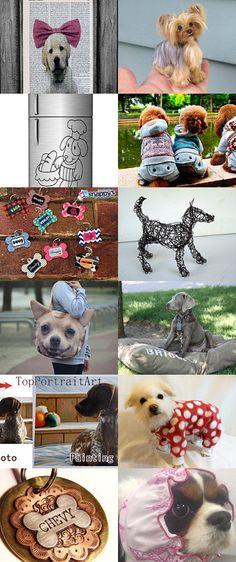 Love dogs einavcraft by Einav Braun on Etsy--Pinned with TreasuryPin.com
