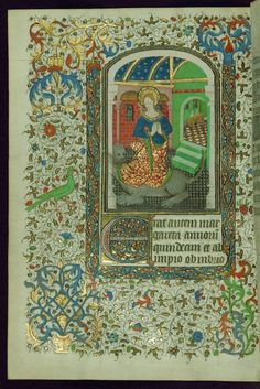 Book of Hours, St. Margaret issuing from the dragon, Walters Manuscript W.267, fol. 182v by Walters Art Museum Illuminated Manuscripts http://flic.kr/p/DamZrH