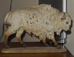 Ceramic White Buffalo