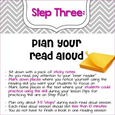 Interactive Read Aloud in Six Easy Steps...