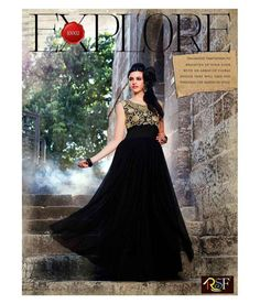 5627cf9e0 eWaydeal Black Net Gown - Buy eWaydeal Black Net Gown Online at Best Prices  in India on Snapdeal